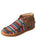 WCA0021 Twisted X Serape Fringe Moccasin Shoe