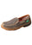 WDMS009 Twisted X Women's ECO TWX Slip-on Driving Moccasins – Dust Casual Shoe
