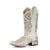 A3397 Corral Boots Women's White Sequin Inlay Bling Glitter Sq Toe Boot