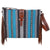 XWLB-164 Twisted X Wool Saddle Blanket Bag Blue Multi