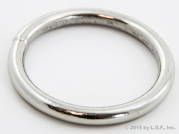 Red Hound Auto 1 Welded O-Ring 2 Inch (2.5 Inches Outer) x 17/64 Inches Thick Heavy Duty Nickel 200 Lbs