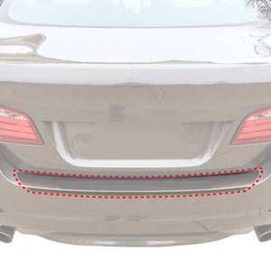 Red Hound Auto Rear Bumper Paint Protection Film 2011-2016 Compatible with BMW (5 Series 520i 528i 530i 535i 550i 535d) 1pc Custom Guard Clear Applique Cover Self Healing Invisible Cover Wet Install
