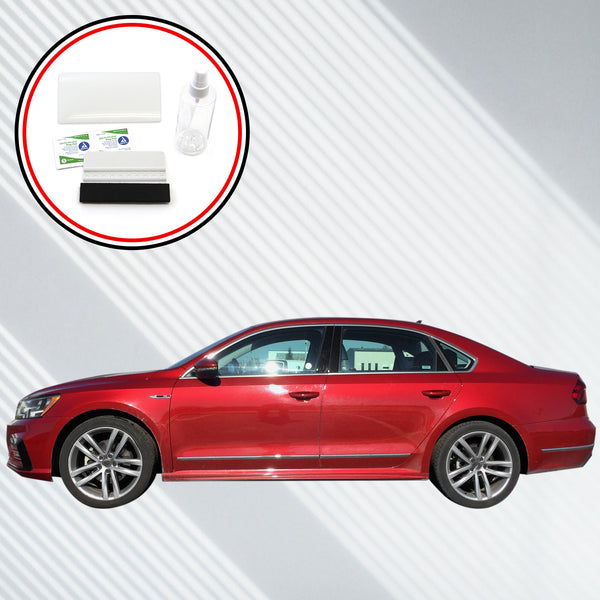 Red Hound Auto 2014-2018 Compatible with Volkswagen Passat App-Connect Car-net Screen Saver 2pc Custom Fit Invisible High Clarity Touch Display Protector Minimizes Fingerprinting 6.3 Inch
