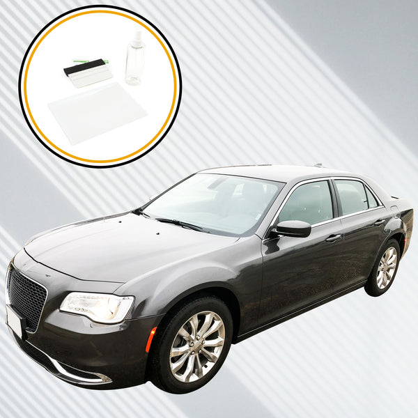 Red Hound Auto Screen Saver 1pc Compatible with Chrysler 300 Uconnect 2011-2019 Invisible High Clarity Touch Display Protector Minimizes Fingerprints 8.4 Inch