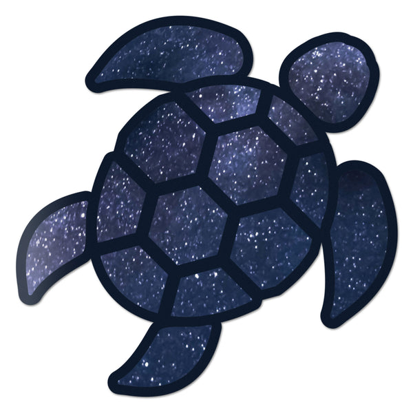 Red Hound Auto Sea Turtle Space Sticker Decal Wall Tumbler Cup Window Car Truck Laptop 2.5 Inches