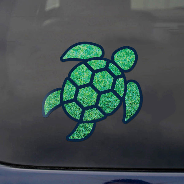 Red Hound Auto Sea Turtle Grass Green Sticker Decal Wall Tumbler Cup Window Car Truck Laptop 4 Inches