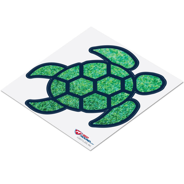 Red Hound Auto Sea Turtle Grass Green Sticker Decal Wall Tumbler Cup Window Car Truck Laptop 2.5 Inches