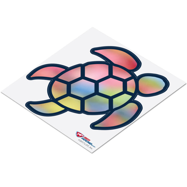 Red Hound Auto Sea Turtle Pink Swirl Sticker Decal Wall Tumbler Cup Window Car Truck Laptop 2.5 Inches