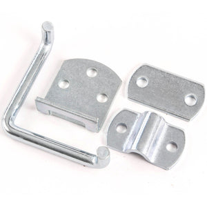 Red Hound Auto Stake Body Rack Straight Mount Bent Bracket Gate Corner Latch Set Security Set Utility Trailer Wood