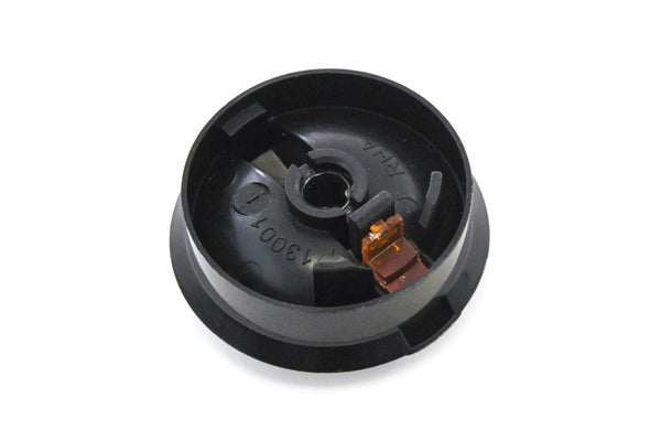 Control Knob Fan Heater 2005-2011 Compatible with Toyota Tacoma Temperature HVAC Black (Orange Indicator)