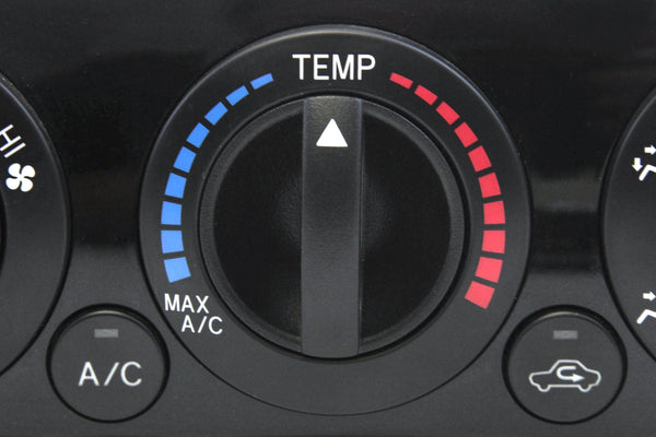 3 Control Knobs Fan Heater AC 2012-15 Compatible with Toyota Tacoma Temperature Clear Black