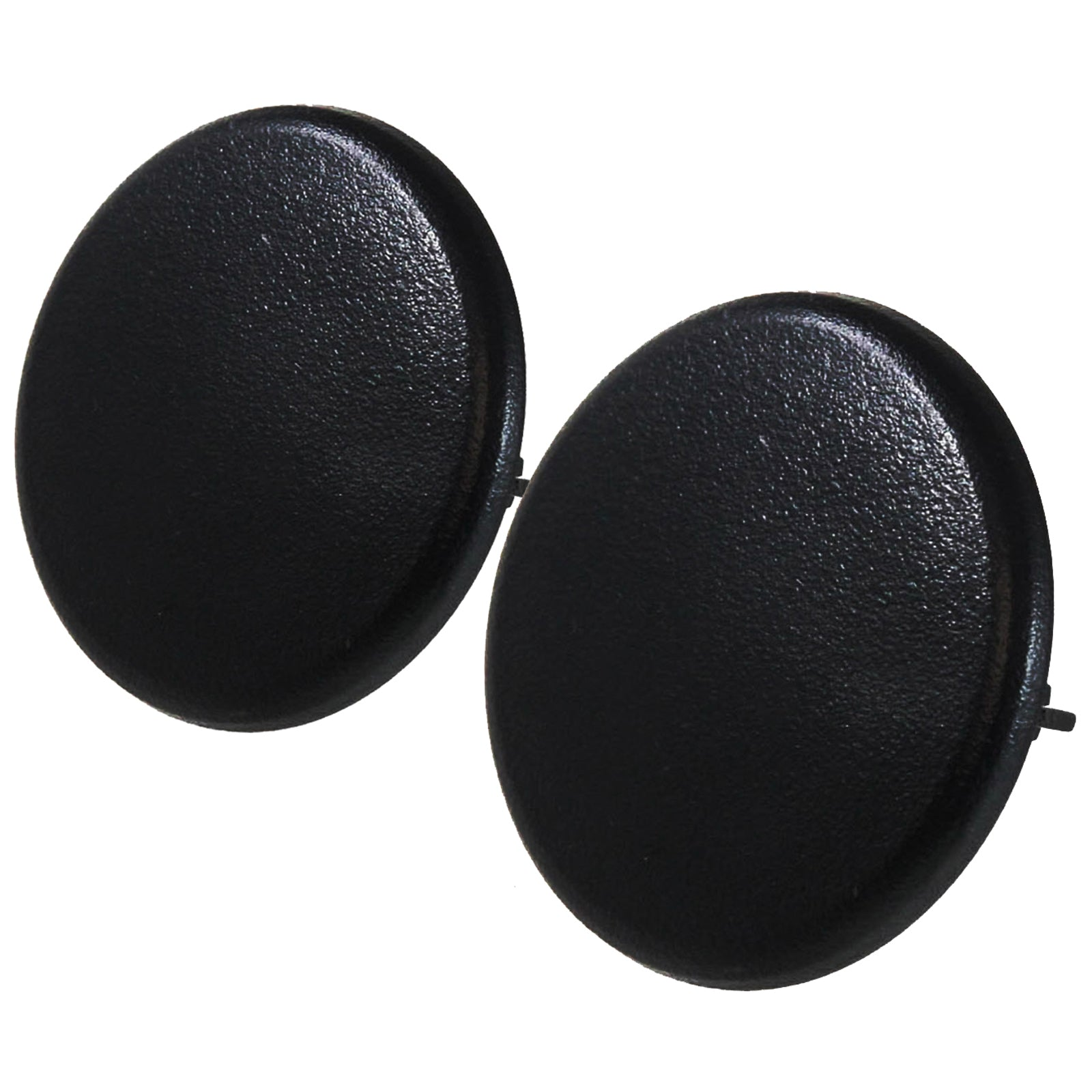 2 Rear Armrest Cover Caps Black Ebony 2007-2014 Compatible with GM Trucks & SUVs Arm Rest Snap New