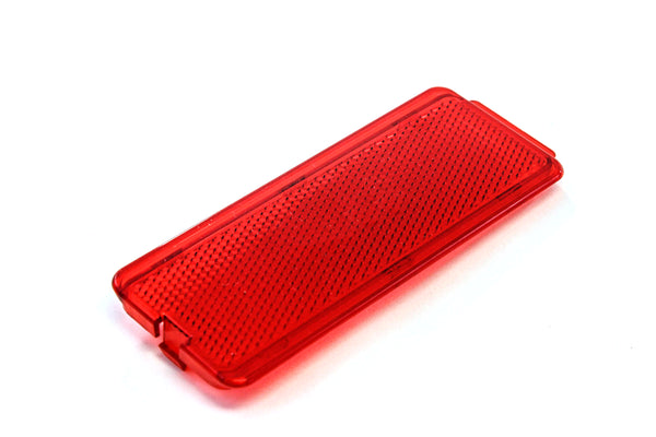 3 Premium Door Reflectors Interior Red Compatible with Ford (1999-2007 SuperDuty F250 F350 F450 F550 Super Duty & 2000-2005 Excursion)