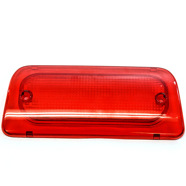 3rd Brake Light Lens 1994-2004 Compatible with Chevy GMC S-10 S10 Sonoma EXTENDED CAB Only Genuine RHA High Red Third Brake
