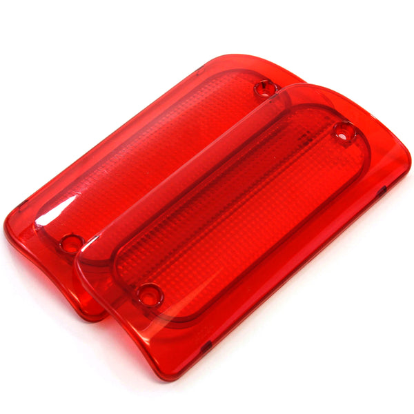 2 Third Brake Light Lens 1994-2004 Compatible with Chevy GMC S10 Sonoma Regular Cab or Crew Cab Genuine RH High Mount
