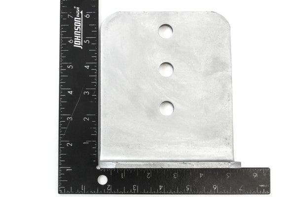 Red Hound Auto 4 L Type Bunk Bracket 6 Inches Tall Hot Dipped Galvanized Boat Trailer Brackets Set