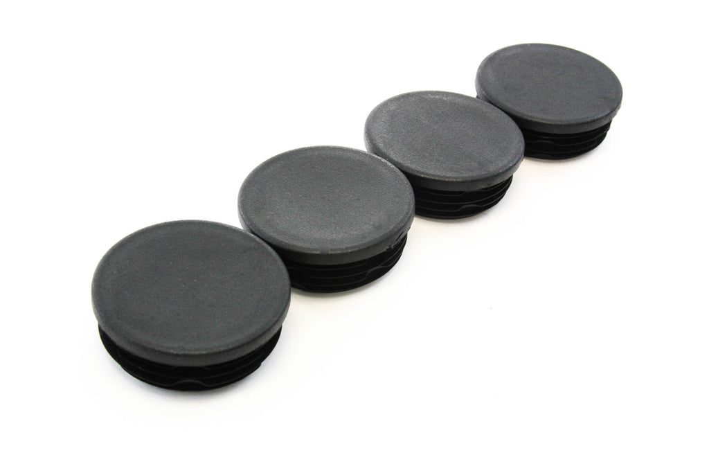 4Pcs Rubber Frame Tube Hole Plugs Cover Fit for Chevy GMC Sierra Rear Wheel Well KKmoon Frame Tube Hole Plugs
