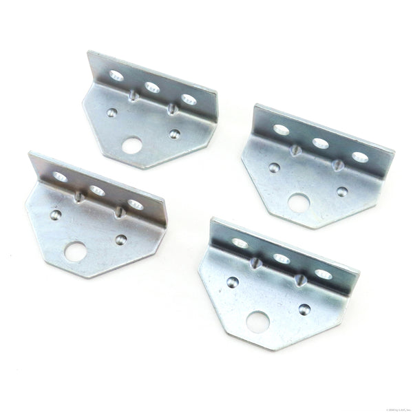 4 Boat Trailer Top Angle Zinc Swivel Top Angle Bracket for Bunk Brackets