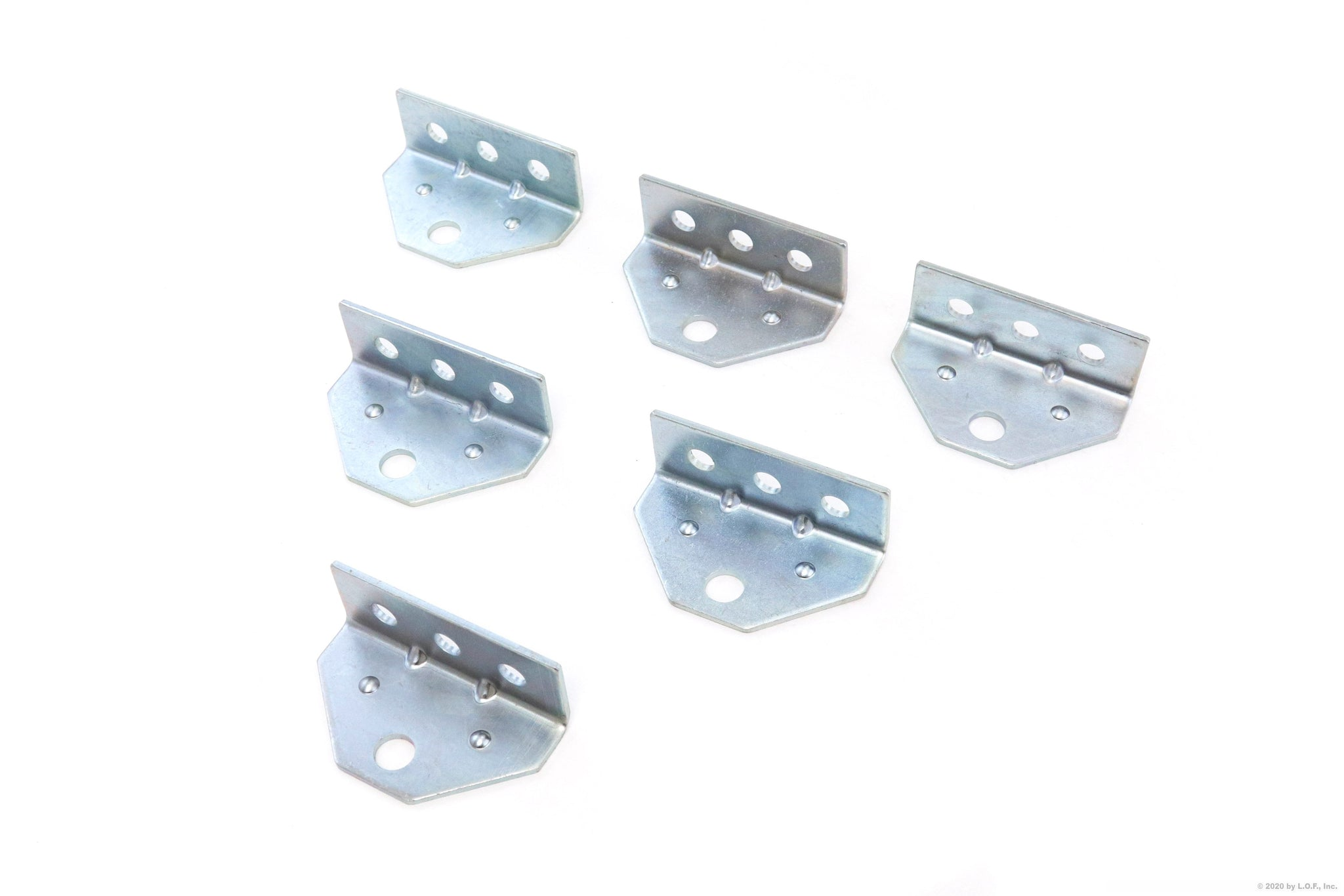 6 Boat Trailer Top Angle Zinc Swivel Top Angle Bracket for Bunk Brackets