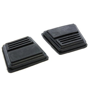 Red Hound Auto 2pc Clutch or Brake Pedal Pad Covers Compatible with Buick Century (1977-1981) & Chevy Astro 1985-2005 and Many Other 1990-2012 Models with Manual Transmission Only