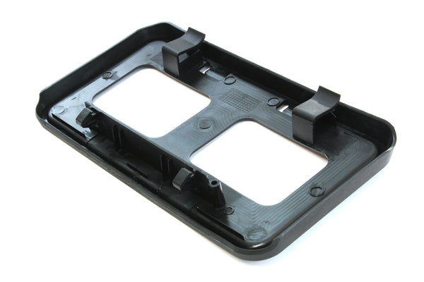Red Hound Auto Front License Plate Bumper Mounting Bracket Compatible with Ford Super Duty (F-250, F-350, F-450, F-550) 2011-2016
