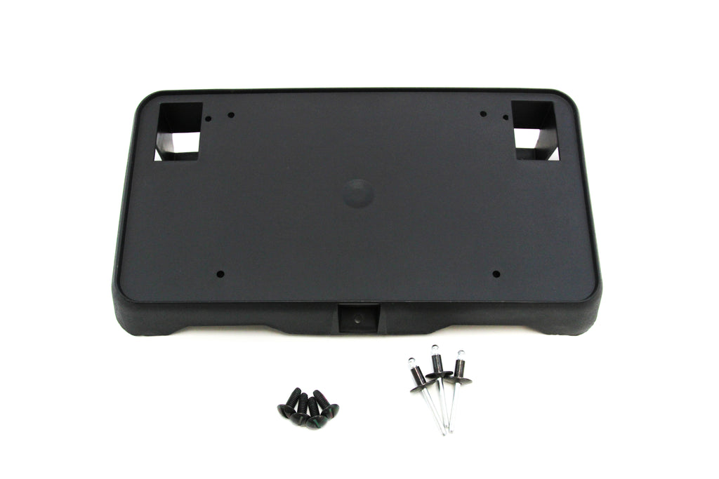 Includes Screws and Mounting Hardware Red Hound Auto Front License Plate Bumper Mounting Bracket Compatible with Chevrolet Silverado 1500 2016-2018 /& 2019 1500 LD Only