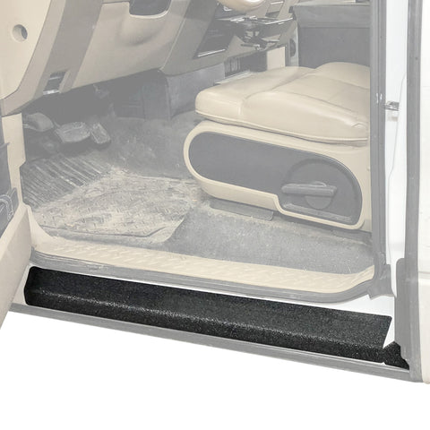 Red Hound Auto Door Entry Guard Scratch Shield Compatible with F-150 2004-2008 Ford F150 Regular Cab 2 Door Custom Fit Door Sill Scuff Paint Protector