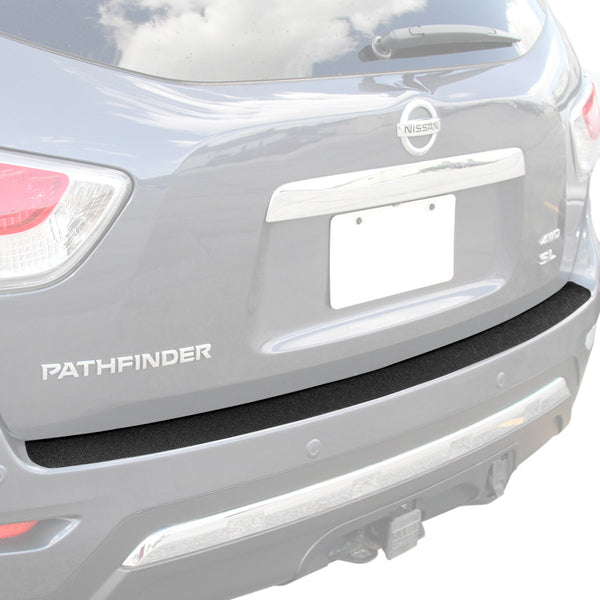 Rear Bumper Scuff Scratch Protector 2013-2016 Compatible with Nissan Pathfinder Shield Cover Paint Protection Guard