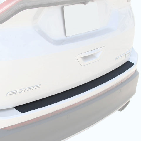Custom Fit 2015-2018 Compatible with Ford Edge 1pc Rear Bumper Scuff Scratch Protector Shield Cover Paint Protection (Includes Installation Kit)