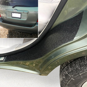 Red Hound Auto 2001-07 Compatible with Toyota Highlander 3pc Door Sill Step Protector Bumper Threshold Shield Paint Protection Guard