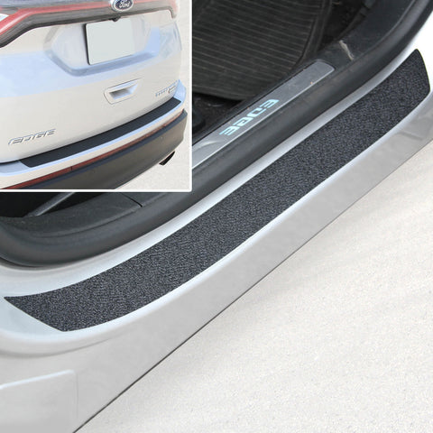 Red Hound Auto Door Entry Guards Bumper Scratch Shield 2015-2017 Compatible with Ford Edge 5pc Kit Bra Paint Protector