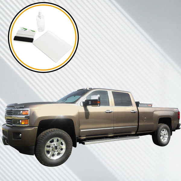 2014-2018 Compatible with Chevy Silverado MyLink Screen Saver 1pc Custom Fit Invisible High Clarity Touch Display Protector Minimizes Fingerprinting 7 Inch