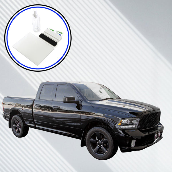 Red Hound Auto Screen Protector Compatible with 2013-2018 Dodge Ram 1500 2500 3500 with 8.4 Inch Uconnect - Set of 2 - Custom Fit Invisible High Clarity Touch Display Protector Minimizes Fingerprints