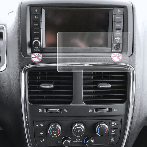 Red Hound Auto Screen Protector Compatible with Dodge Grand Caravan Uconnect 6.5 Inch