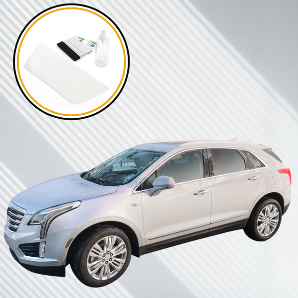 Red Hound Auto Screen Saver 2pc Compatible with 2017-2019 Cadillac XT5 CUE Invisible High Clarity Touch Display Protector Minimizes Fingerprints 8 Inch