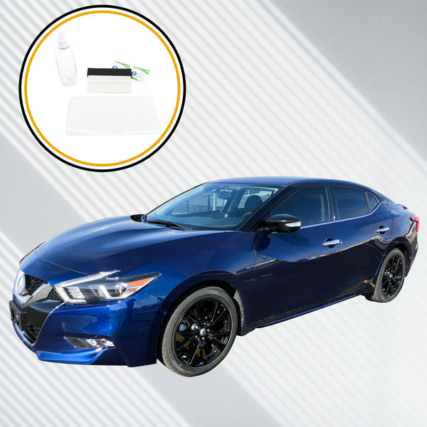 Red Hound Auto Screen Saver 1pc Compatible with Nissan Maxima 2016-2019 Invisible High Clarity Touch Display Protector Minimizes Fingerprints Connect 8 Inch