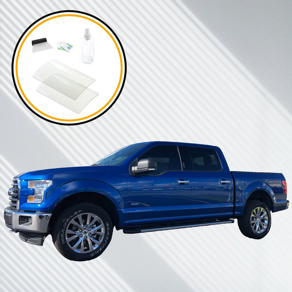 Red Hound Auto Screen Saver 2pc Compatible with Ford F-150 F150 2015-2019 8 Inch MyFord Touch Sync 3 Invisible High Clarity Display Protector Minimizes Fingerprints fits 8 Inch (Diagonal)