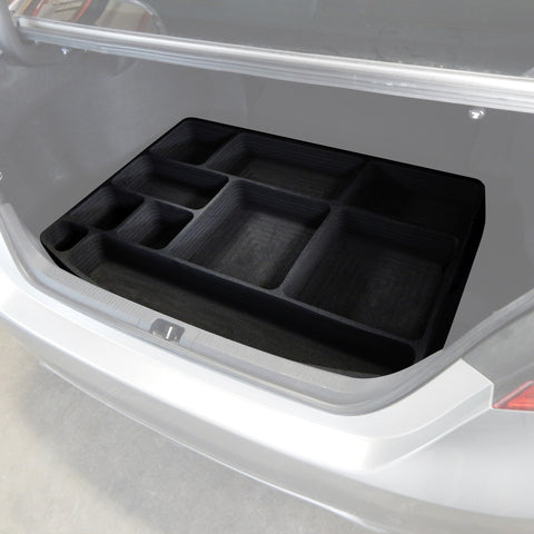 Red Hound Auto Cargo Hatch Organizer Insert Rear Trunk Organizational System Compatible with Toyota Camry 2018-2019 Note: Does not fit XLE or XSE Black Anti-Rattle