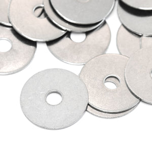 Red Hound Auto 40 Flat Fender Washers Set Fits 1/4 Inch .281 Inch ID Hole Size, 1.25 Inch OD for 304 SS Stainless Steel Corrosion Resistant