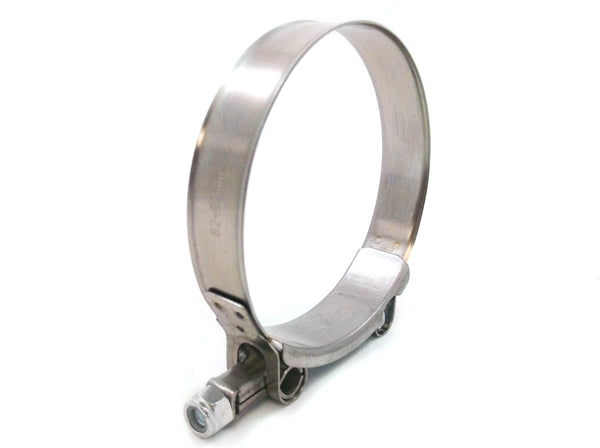 20x Premium 304 Stainless Steel T-Bolt Turbo Silicone Hose Clamp 3.5 Inches 82-90mm