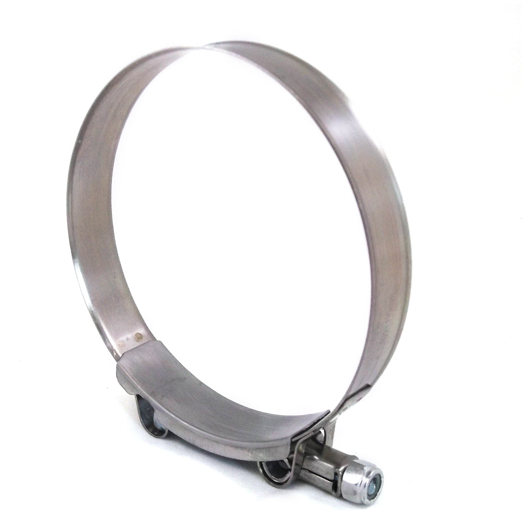 1x Premium 304 Stainless Steel T-Bolt Turbo Silicone Hose Clamp 4 Inches 102-110mm