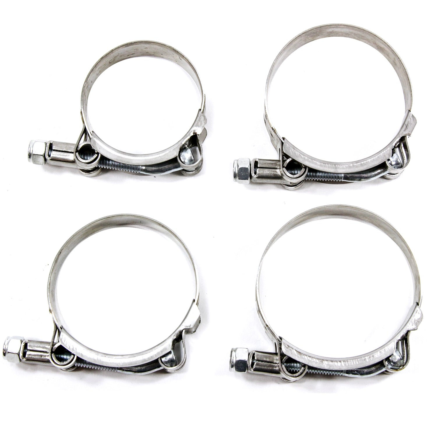 10ea Bulk of Stainless Metal Steel Hose Clamps Assortment Variety Hoseclamp 40pc