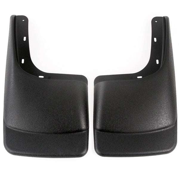 2004-2014 Compatible with Ford F150 (with OEM Fender Flares) Mud Flaps Guards Splash Rear Molded 2pc Set