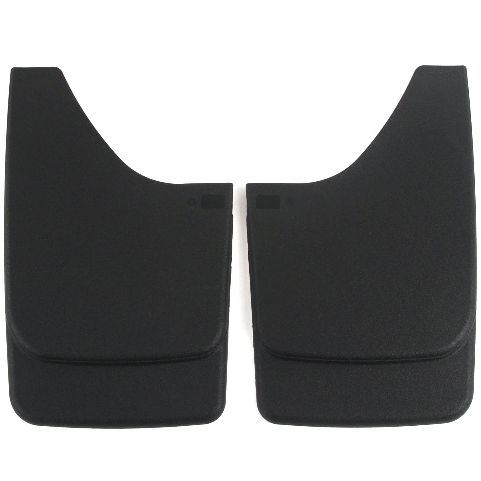 Universal Fit Mud Flaps Guards Splash Front or Rear Molded Pair Set 2pc