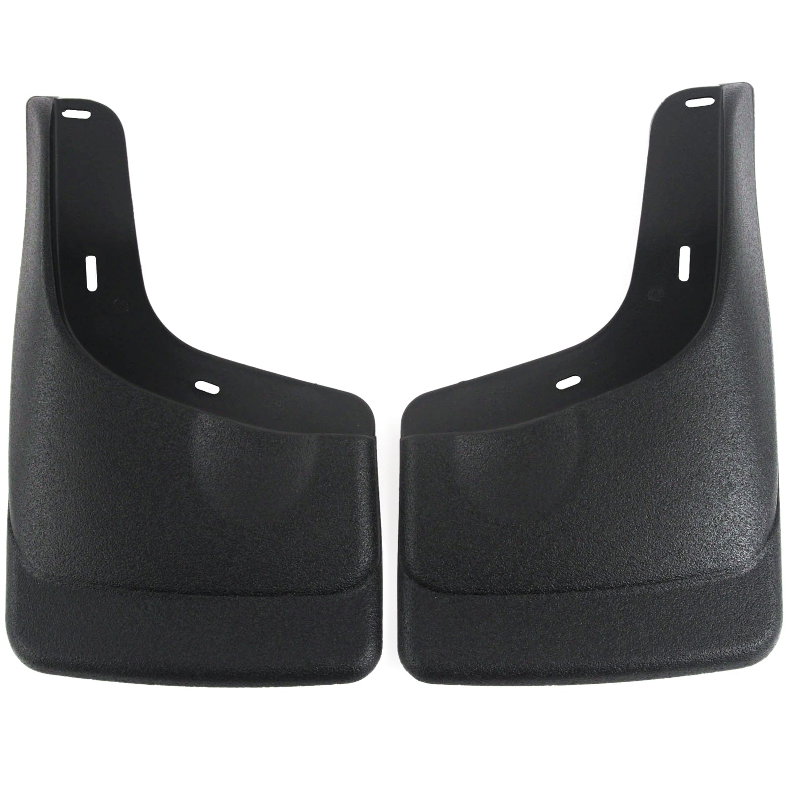 Red Hound Auto 2004-2014 Compatible with Ford F-150 Mud Flaps Guards Splash Front Molded 2pc Set (with Fender Flares)