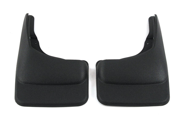 Red Hound Auto 2004-2014 Compatible with Ford F150 Mud Flaps Guards Splash Front Molded 2pc Set (Without Fender Flares)