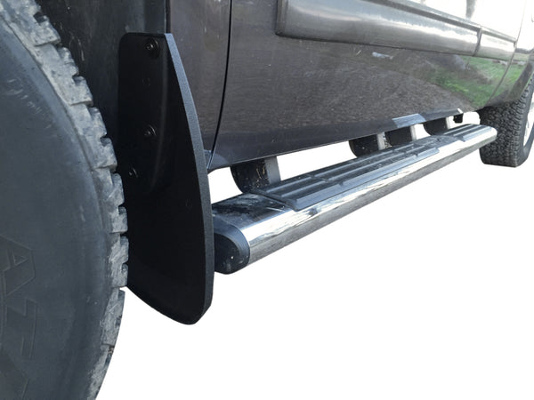 Red Hound Auto 2007-2013 Compatible with GMC Sierra 1500 Mud Flaps Guards Splash Front Molded 2pc Set - Check Description for Specfic Applications