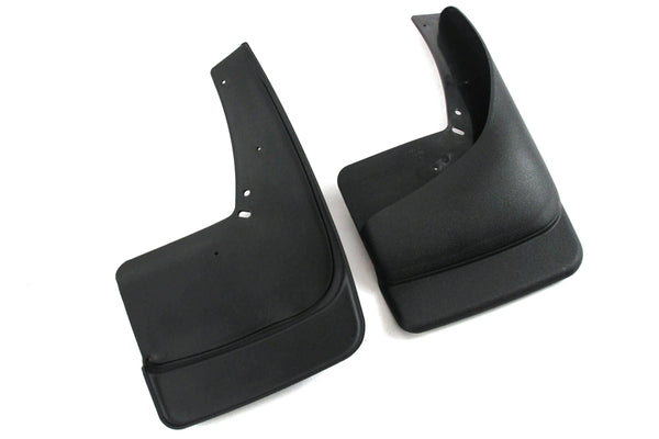 1999-2007 Compatible with Chevy Chevrolet Silverado GMC Sierra Mud Flaps Guards Splash (with OEM Flares) Rear Molded 2pc