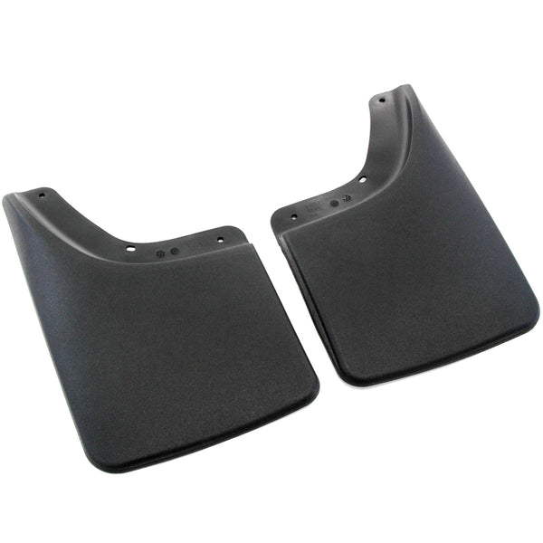 Red Hound Auto 2002-2008 Compatible with Dodge Ram Mud Flaps Guards Splash No Flares Rear Molded 2pc Set