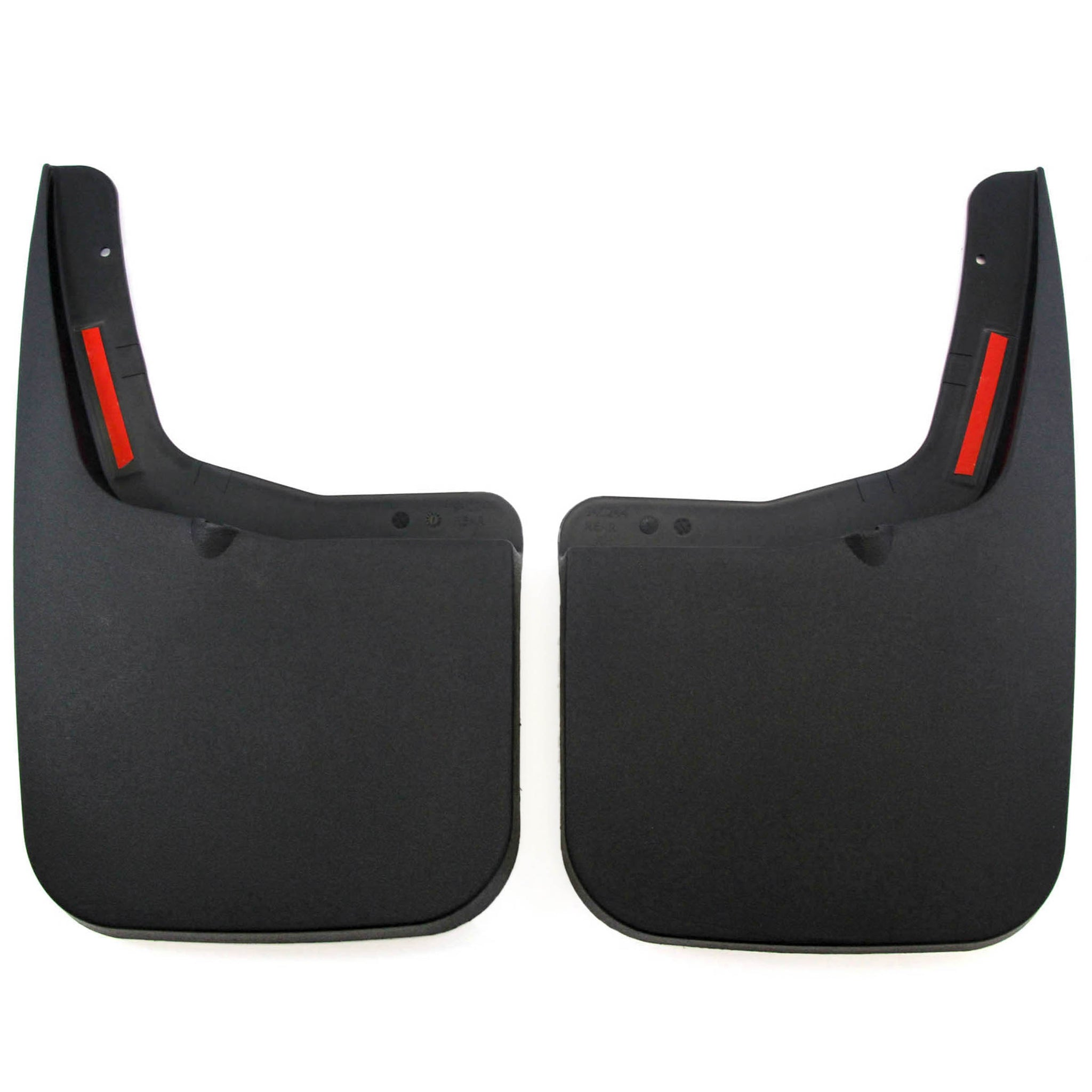 2015-2019 Compatible with Ford F-150 Mud Flaps Guards Splash Flares Rear Molded 2pc (with OEM Fender Flares)
